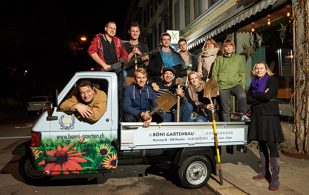Das Böni Gärten-Team